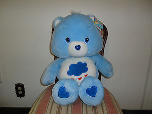 2002 JUMBO GRUMPY CARE BEARS Bear 2 Feet Tall Super Soft Plush NEW w Tags