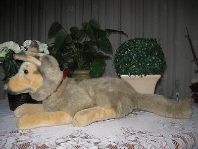 Merrythought UK German Shepherd Dog Plush 19 inch Rare