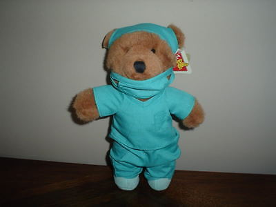 Dakin Applause Doctor Bear Brown 8 Inch 14705 With Tags Vintage
