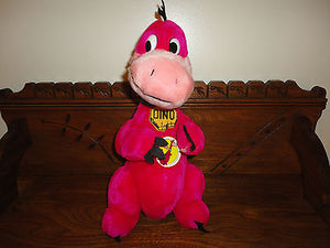 24K Mighty Star DINO DINOSAUR 3031 NEW 14 inch Hanna Barbera Flintstones 1992
