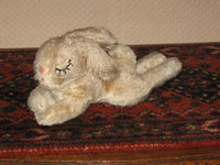 Hermann Germany Sleeping Mohair Rabbit