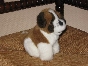 Nicky Toy Holland Saint Bernard Puppy Dog CUTE !