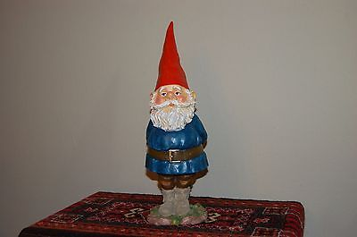 David The Gnome Authentic Rien Poortvliet Statue Large Standing 15.8 Inch 2015