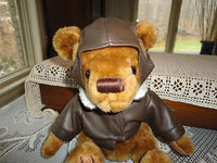 US Airways Pilot Teddy Bear RARE 9 Inch With Jacket