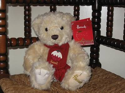 HARRODS 2009 RUFUS Small Christmas Bear
