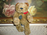 Gund 1983 Brown Humpback Bear Collectors Classic Ltd Ed. Jointed 12in. Retired