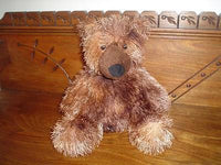 Aurora World Brown Teddy Bear Long Fiber Plush 10 inch Sitting Handmade