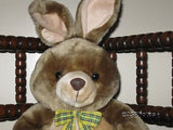 Old Vintage Carolines Choice UK Stuffed Plush Bunny