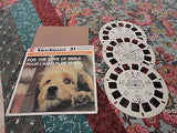 VTG 1977 View Master Showtime FOR THE LOVE OF BENJI 3 Reels with Case