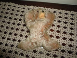 Steiff Floppy Zotty Mohair Sleeping Bear 1954 - 1958
