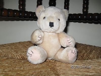 UK Beige 8 inch Jointed Teddy Bear