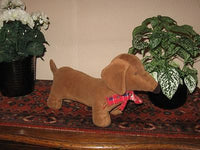 Vintage Kaeminga Holland Dachshund Dog w Voicebox Barking Toy