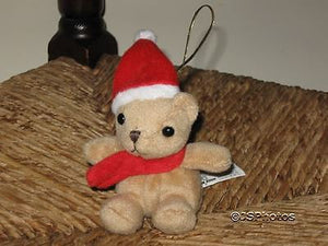 8th Wonder LTD UK Miniature Christmas Bear
