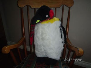 Giant Penguin Plush Pine Mountain River Side California 2 feet Big