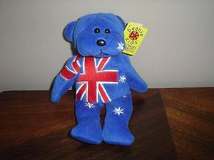 Australia Kids BK G'Day Aussie Bear 2001 ALL Tags