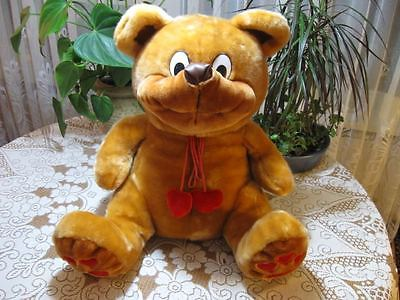 Struis Holland Vintage Jumbo 20 in. Smiling Hearts BEAR