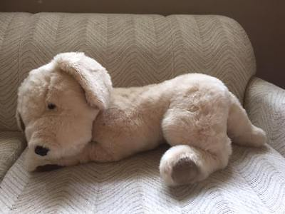 Bon Ton Toys GOLDEN RETRIEVER Dog JUMBO 26 inch Stuffed Plush
