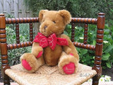 Harrods UK Large 13 inch  Foot Dated Christmas Bear 1997