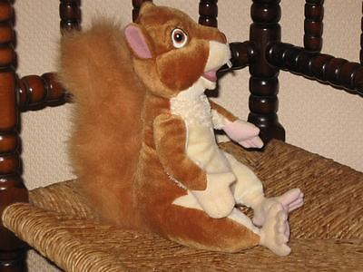 Disney Squirrel Stuffed Plush