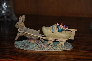 Rien Poortvliet Classic David the Gnome Forest Villages Sailing Away
