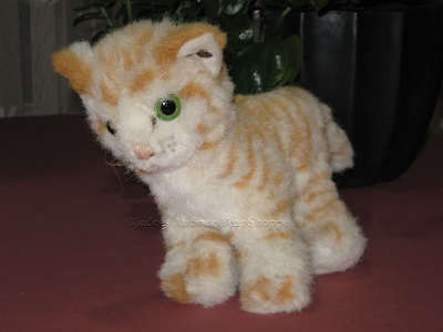Steiff Cat Lizzy Knitted Fur 2728/17 1979 - 1983 ID