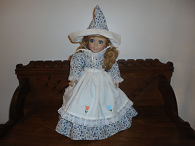 Brenda Thomas Once Upon a Rhyme 1993 Musical DUTCH DOLL Porcelain 16 inch