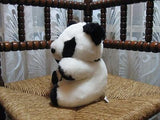 Vintage Kimmies Holland Dutch Panda Bear 8 Inch