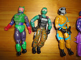 GI Joe Action Figures Mixed Lot 5 Hasbro 3.5 inch Assorted Characters Mixed J
