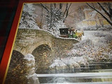 Cobble Hill Puzzle COMING HOME Canadian Artist Douglas Laird 275 Easy Handle PC