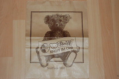 Steiff Knopf Im Ohr Seit 1880 German Paper Shopping Bag NEW