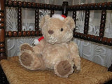 Perleberg Germany Christmas Bear w Music Box Plays Jingle Bells