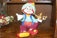 Efteling Holland Mascot Pardoes Genie Piggy Bank Collectible 1980s Very Rare