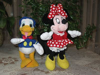 Lot of Donald Duck & Minnie Mouse Dolls Trudi Spa Italy