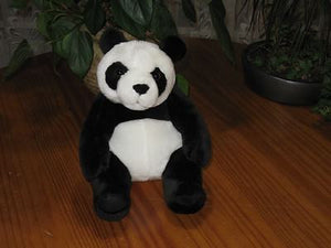 Dutch Interimage 9 Inch Sitting Panda Bear