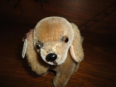 Cocker Spaniel Mohair Dog Old Vintage Germany Rare