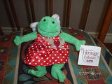 Ganz Heritage Collection Frida Frog Angel Plush 7 Inch HV4489 Retired New