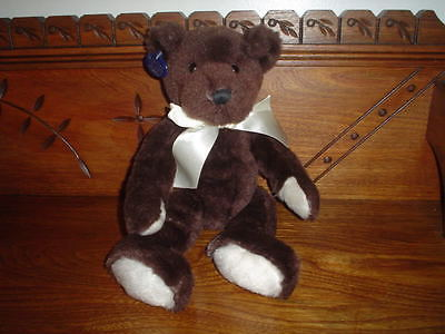 Ganz Heritage Theodore Bear Jointed Brown Plush Retired