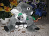 Australian Handmade Smiling Koala Bear Mother & Baby