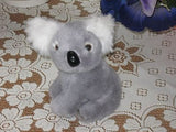 PIA Dutch Holland Sitting Grey KOALA Bear No Tag