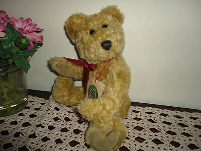 Boyds Brian Teddy Bear Plush Gold Jointed 12 Inch Archive Collection Canada