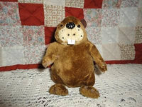 Bell Mobility Canada Beaver Plush Toy Very Cute & Rare