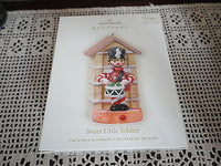 Hallmark Keepsake Ornament Sweet Little Soldier Magic Sound Motion 2008 QXG7164