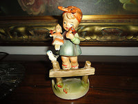 Vintage Giftcraft GC Made Japan German Girl Porcelain Figure 5