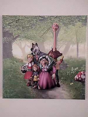 Efteling Holland Fairytale Forest Sprookjesbos Digital Print on Canvas Art New
