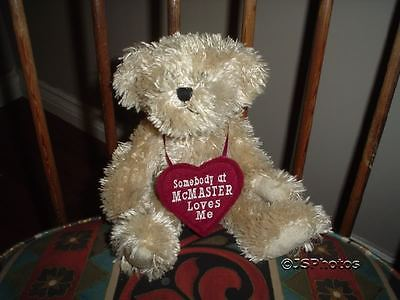 Ganz MCMASTER UNIVERSITY Canada Exclusive Murdoch Bear