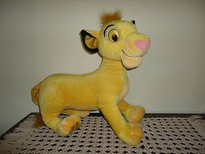 Disney 2002 Lion King SIMBA Cub LARGE 17 inch Plush