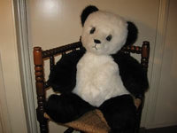 Merrythought Ironbridge Shropshire Jumbo 28 inch Panda Bear OVER 2 FT