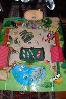 Atlas Europe France Childrens Farm Set 53 Pieces Comical Funny Animals People