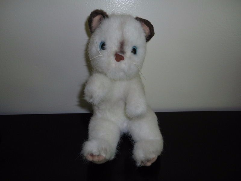 Pawpalz Mechanical SIAMESE CAT KITTEN Plush Toy 2008