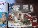 Teddy Bear Review Magazine Back Issue July / Aug 2001 Steiff and Gund Booklets